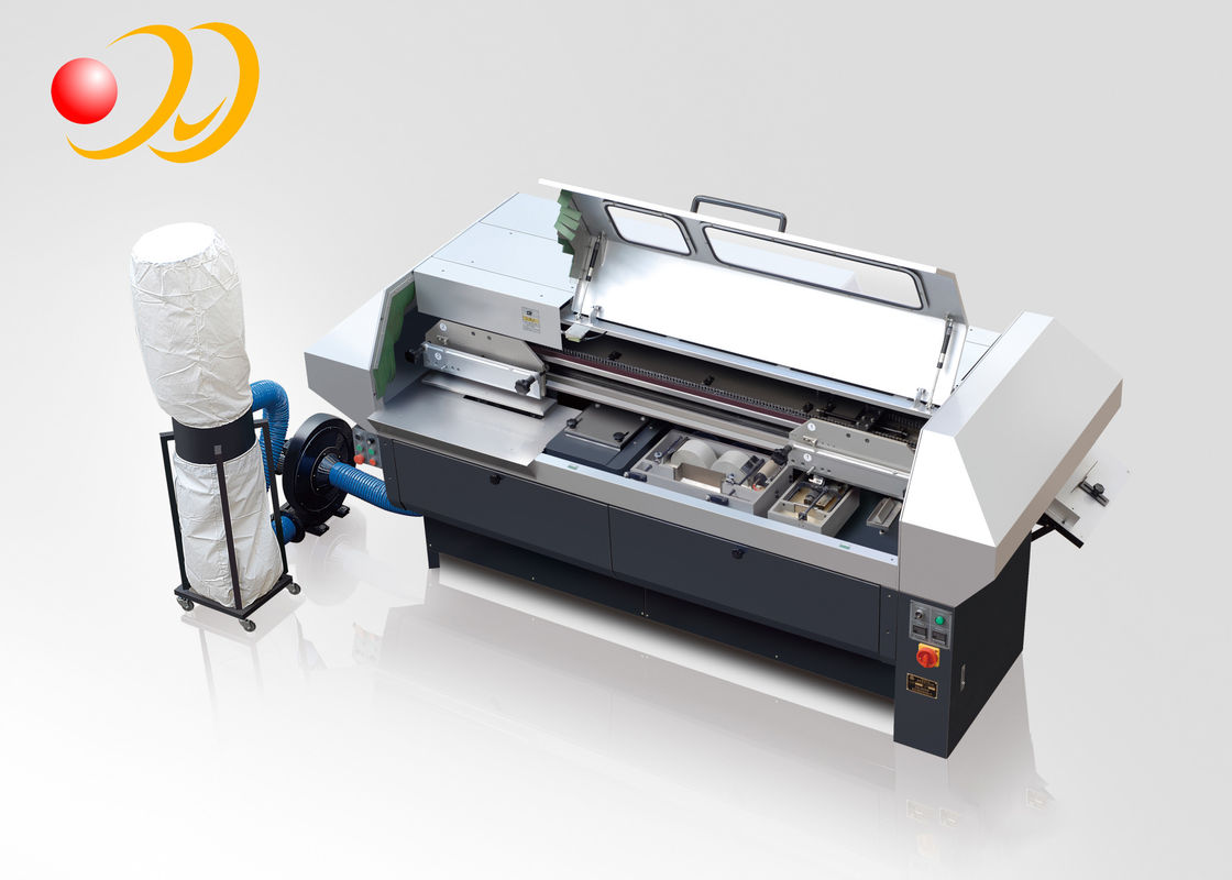 Elliptic Perfect Book Printing And Binding Machine , Paper Binding Machine