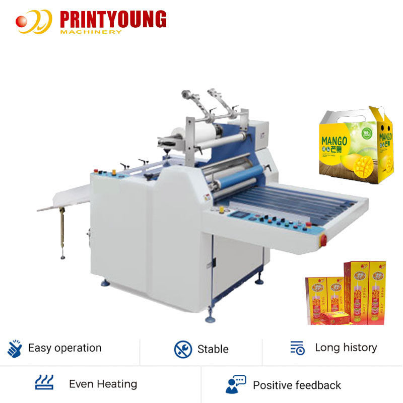 Semi Auto SFML-720 25m/Min Bopp Film Laminating Machine